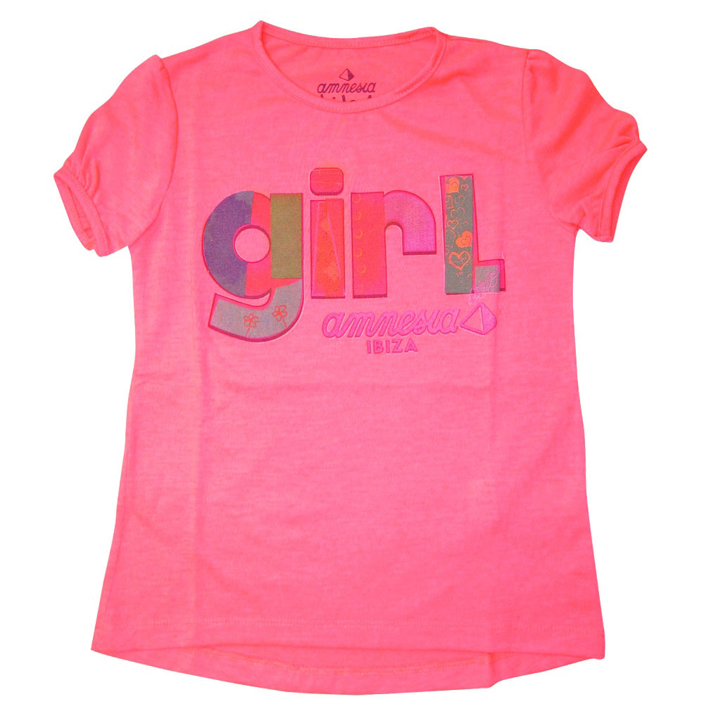 Amnesia Ibiza Patchwork Girl Kids T-shirt