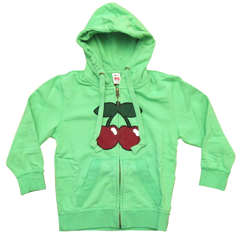 Pacha Basic Cherry Logo Kids Zip up Hoodie