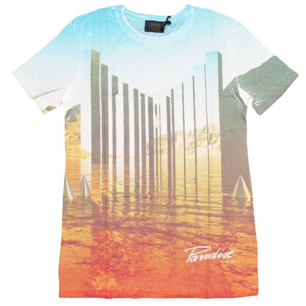 Paradise Ibiza T-shirt homme Piliers