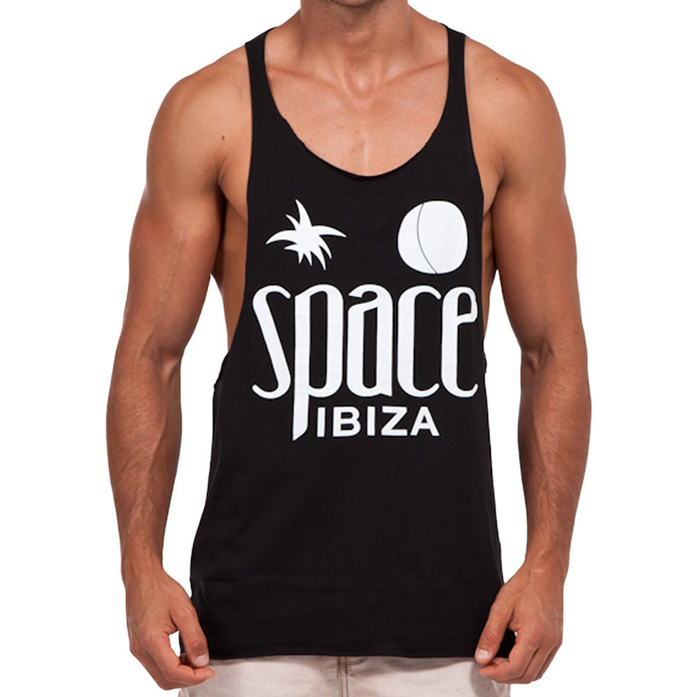 Space Ibiza Native Logo Men's Muscle Tank