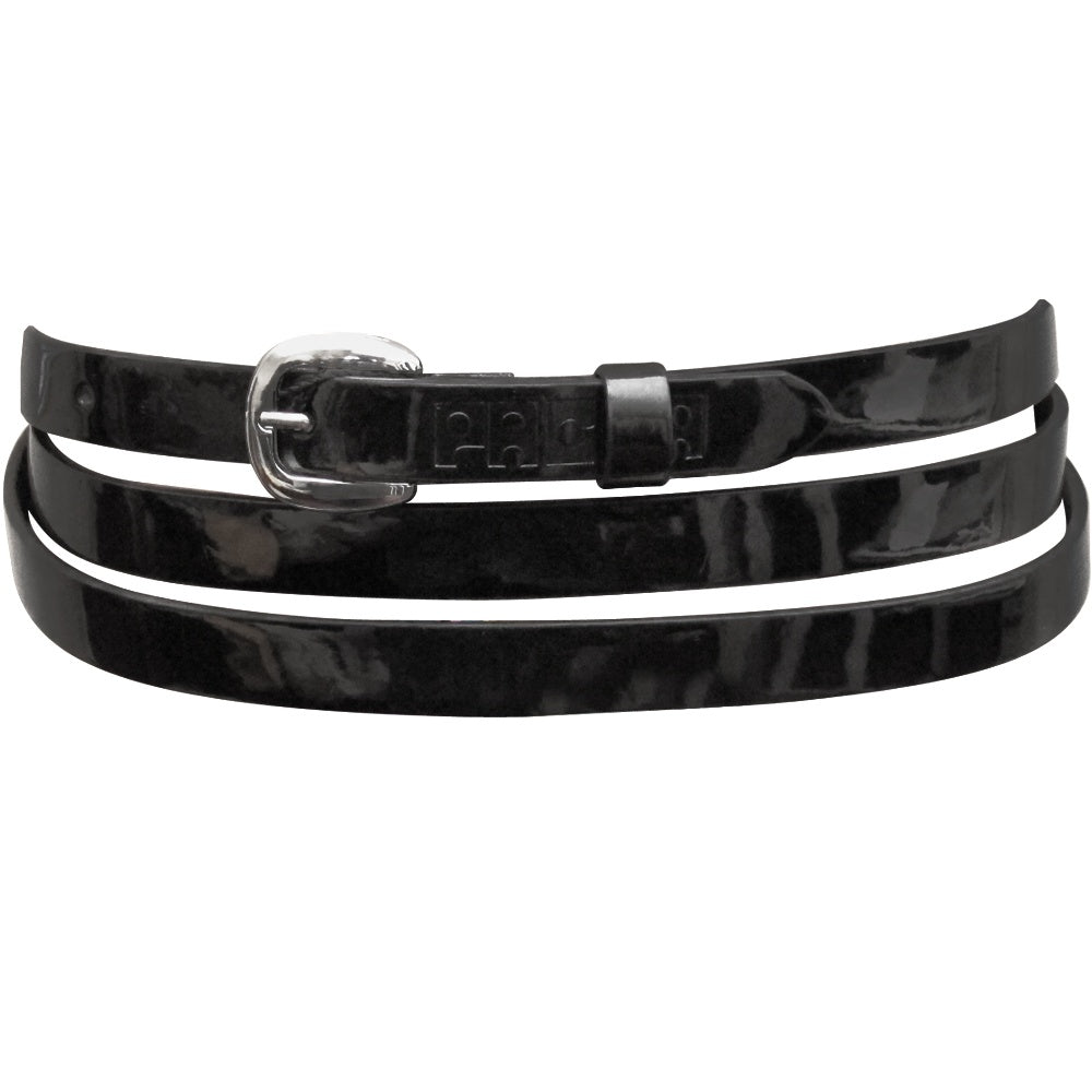 Pacha Skinny Leather Belt