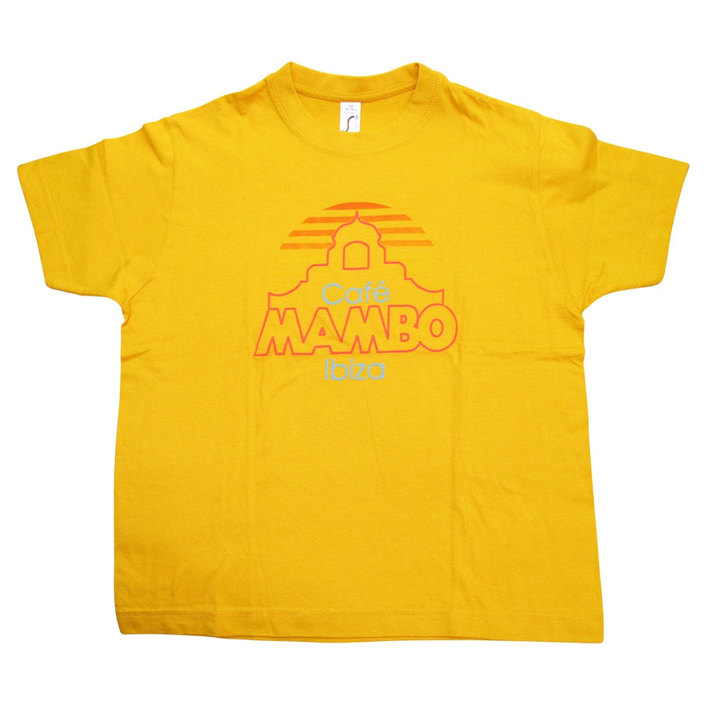 Cafe Mambo Neues Logo Kinder T-shirt