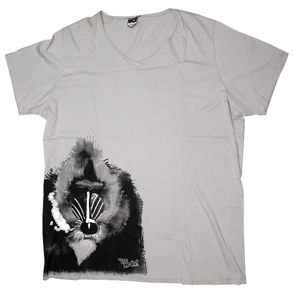 Zoo Project Zoo You Pavian Babbuino T-Shirt Uomo