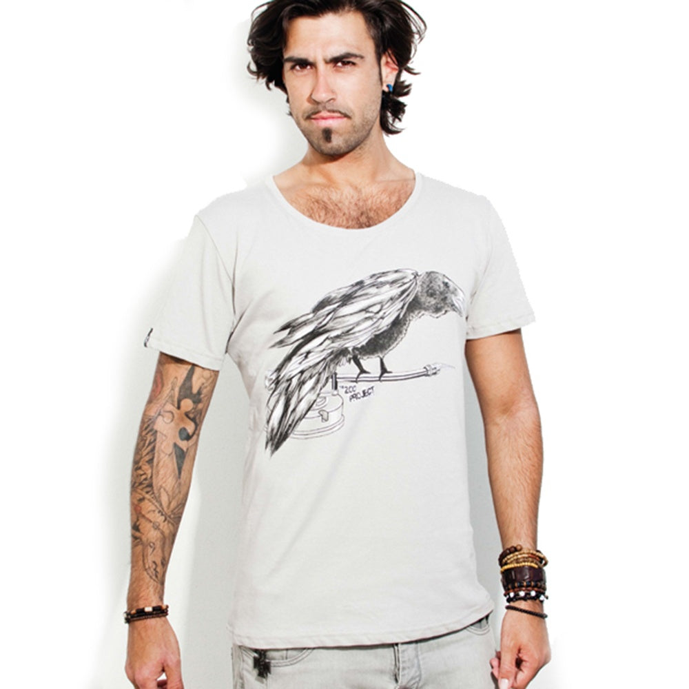 Zoo Project Raven Mens T-Shirt
