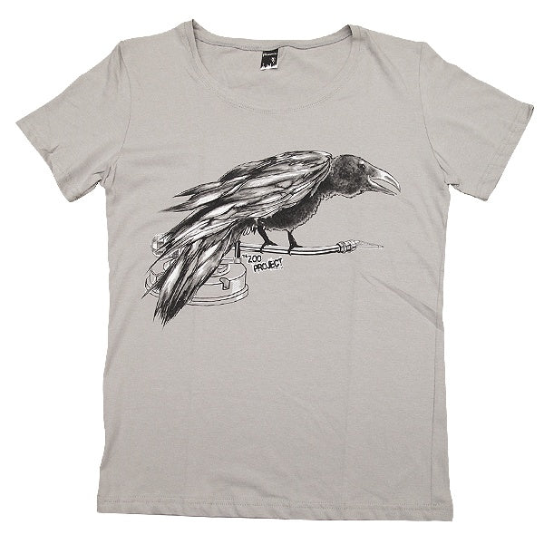 Zoo Project Zoo You Raven Corvo T-Shirt Uomo