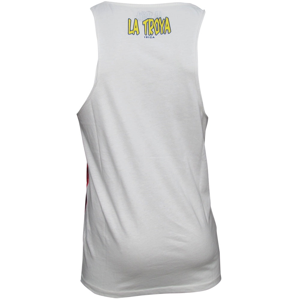 La Troya Ibiza Big Mouth Mens Vest