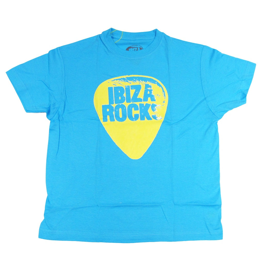 Ibiza Rocks Plektrum Kinder T-Shirt