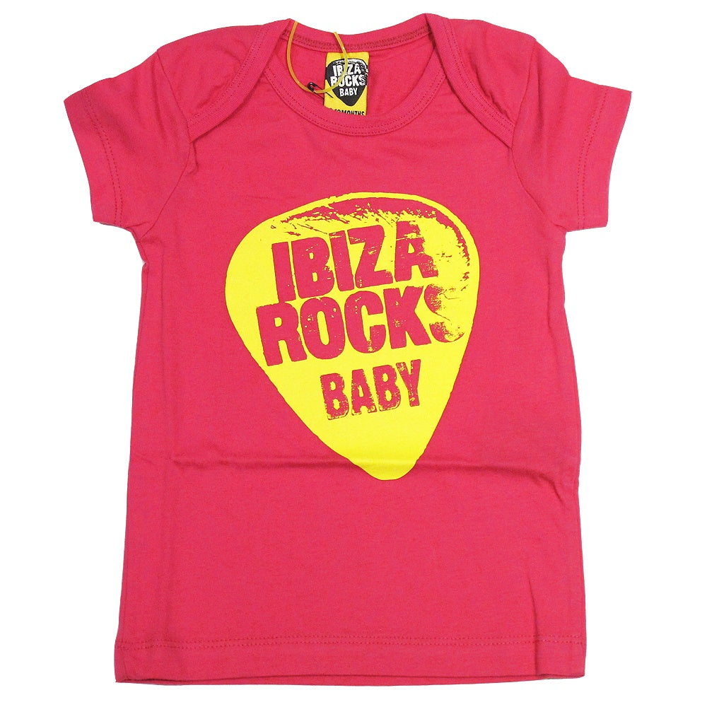 Ibiza Rocks Neon Plectrum Baby T-shirt