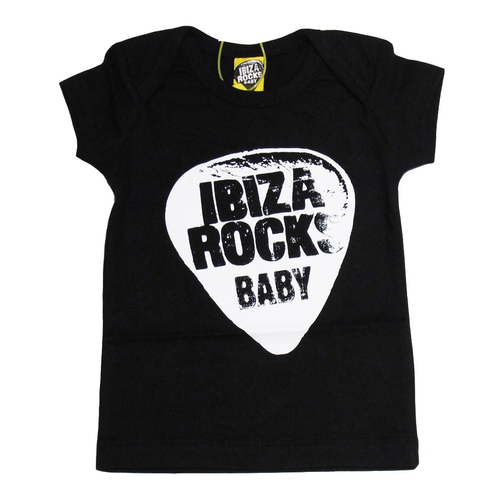 Ibiza Rocks Plectrum Baby T-shirt