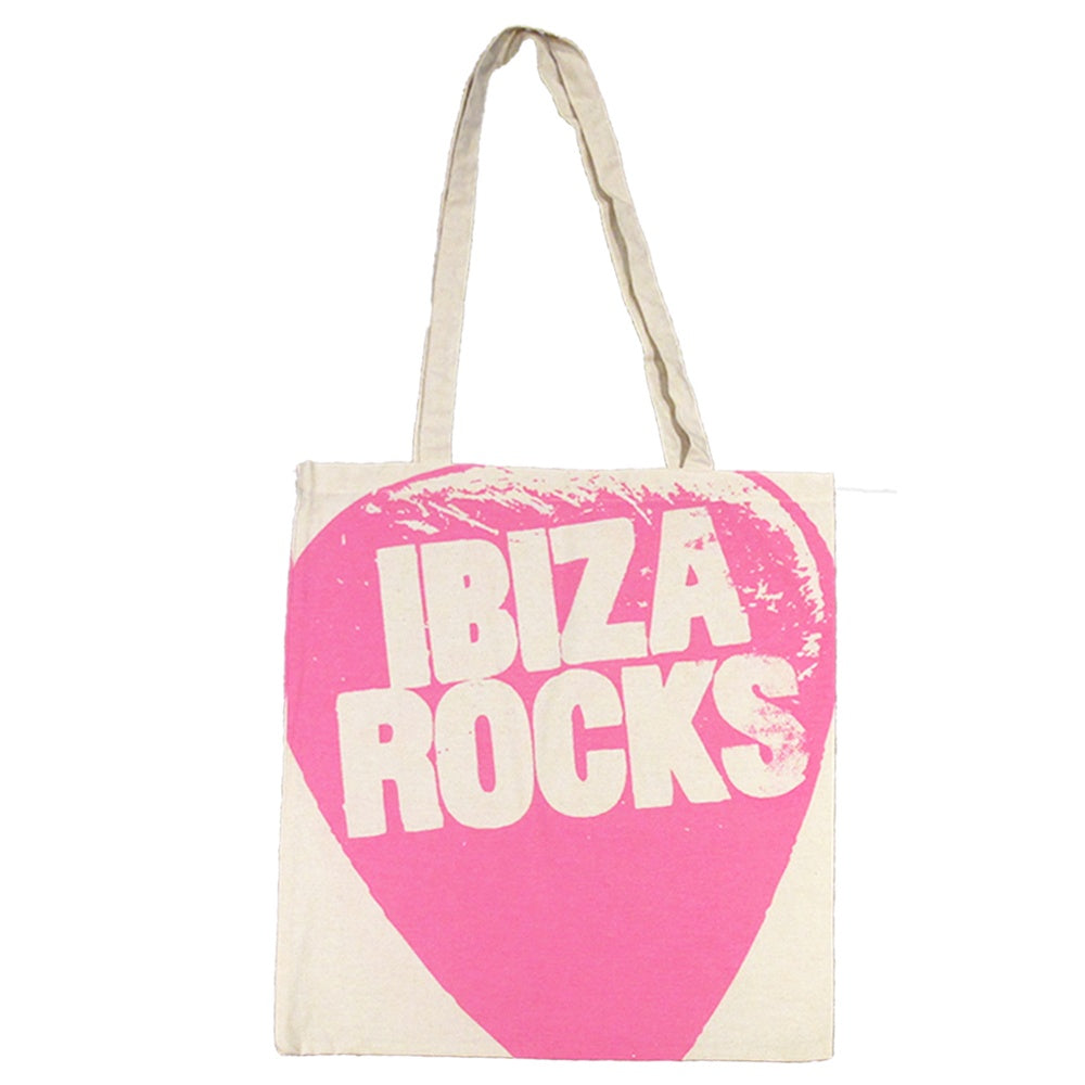 Ibiza Rocks Oversized Logo Tote Bag