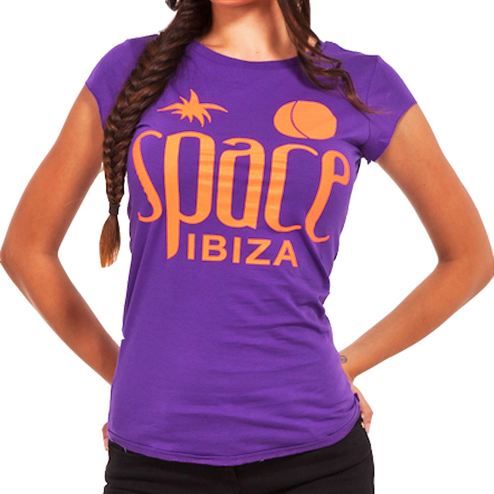 Space Ibiza Nativen Logo Damen Tshirt