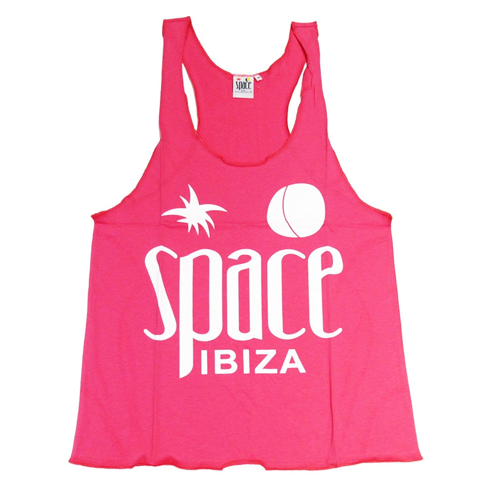 Space Ibiza Native Logo Women's Pink Tanktop