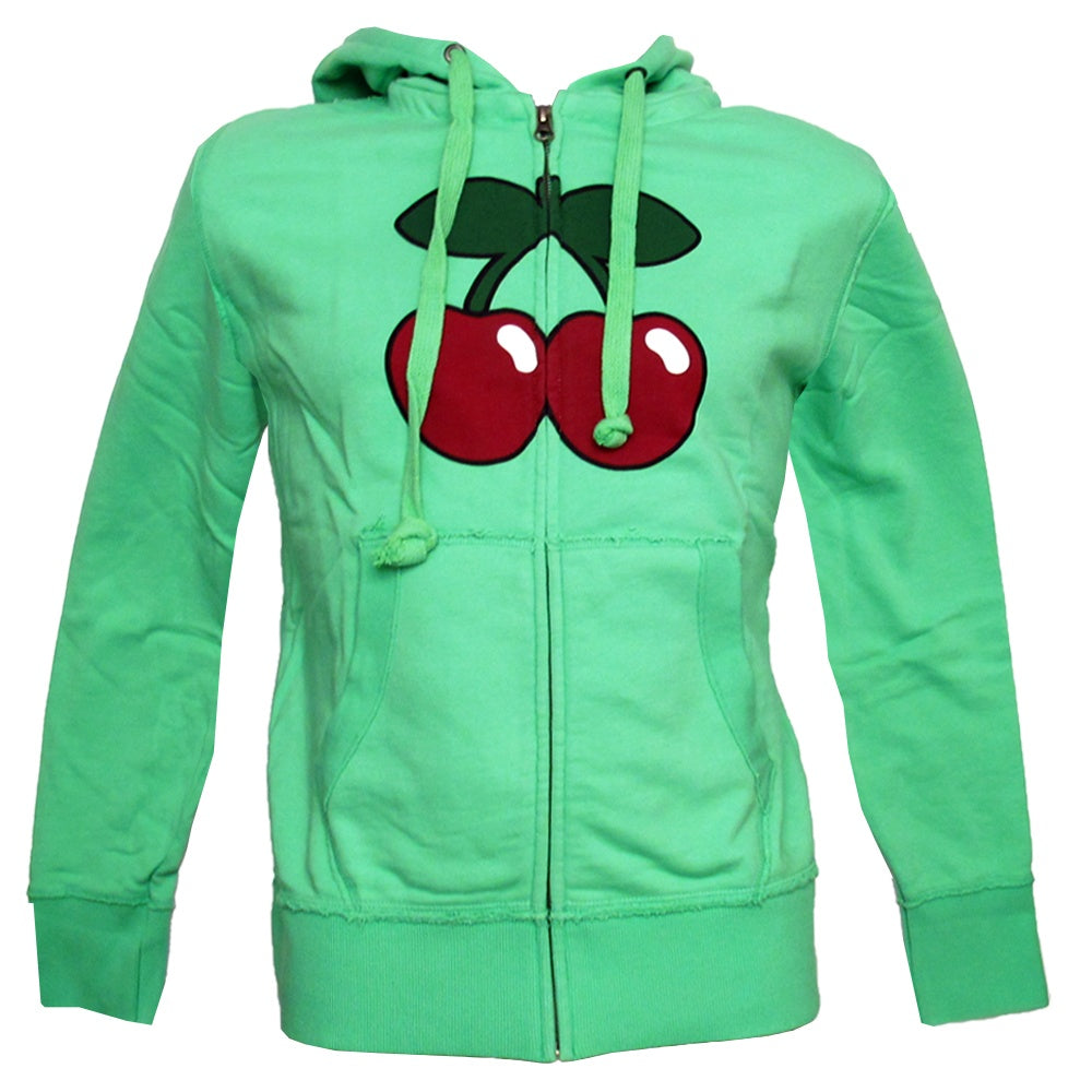Pacha Basic Cherry Logo Men's Zip up Hoodie