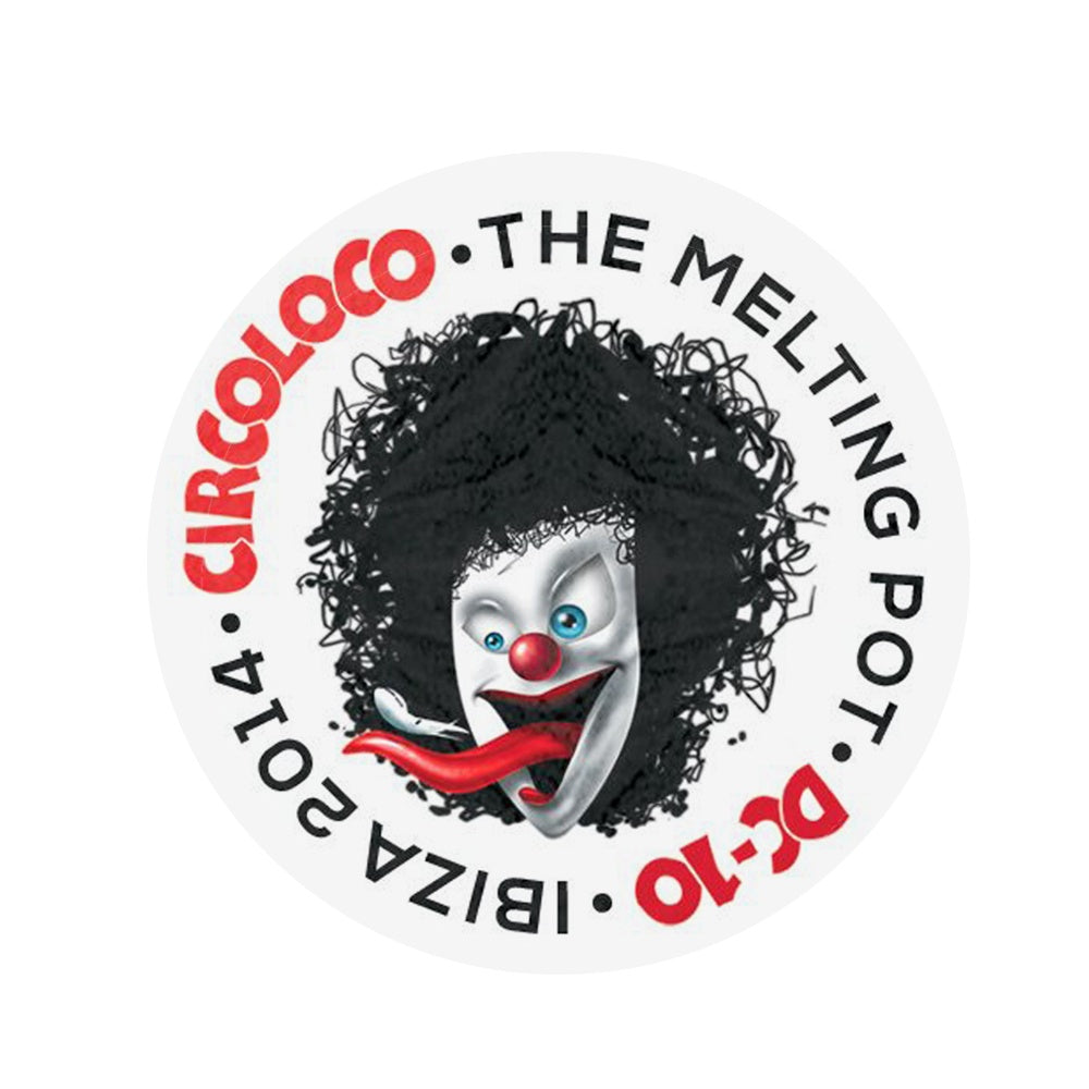 Circo Loco Melting Pot 2014 Clown Sticker