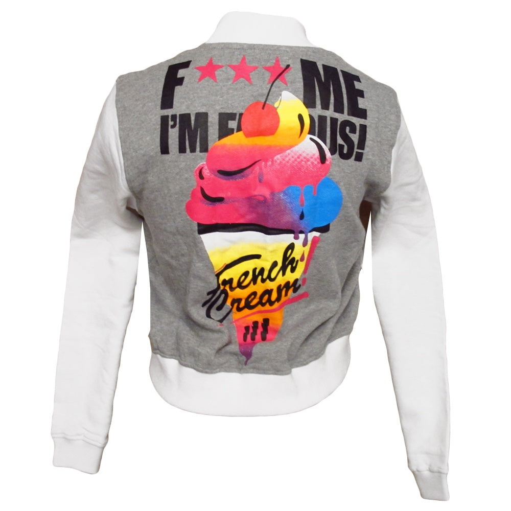 David Guetta F Me I'm Famous Ibiza French Cream Women's Teddy Jacket