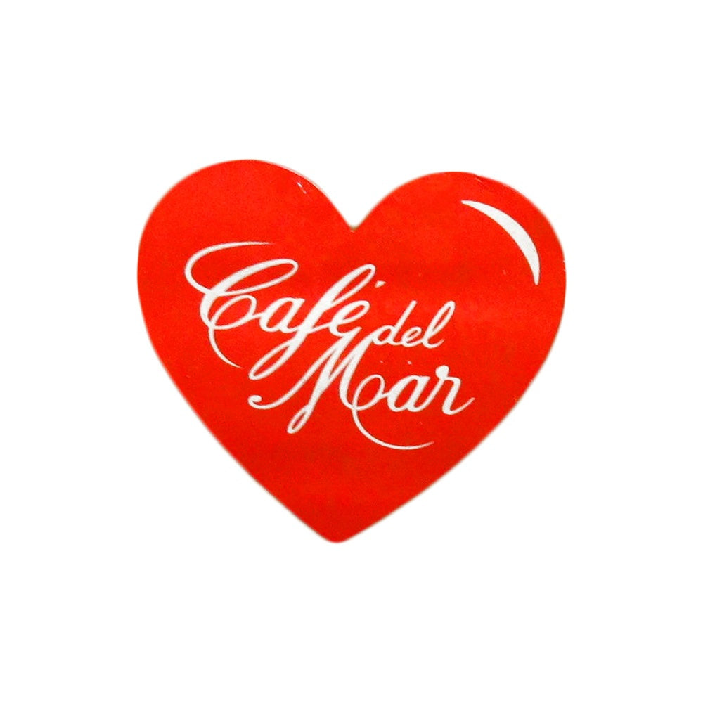 Cafe Del Mar Heart Logo Sticker