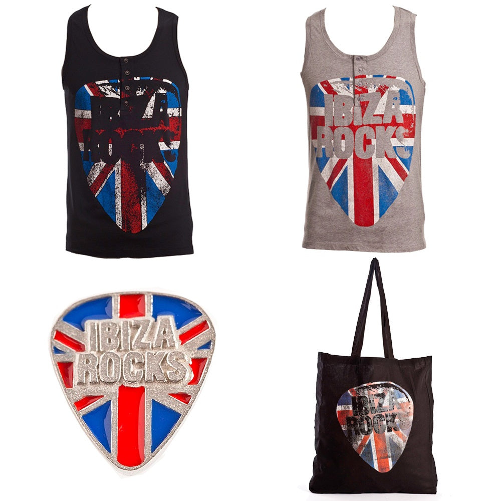 Ibiza Rocks Set Regalo Union Jack