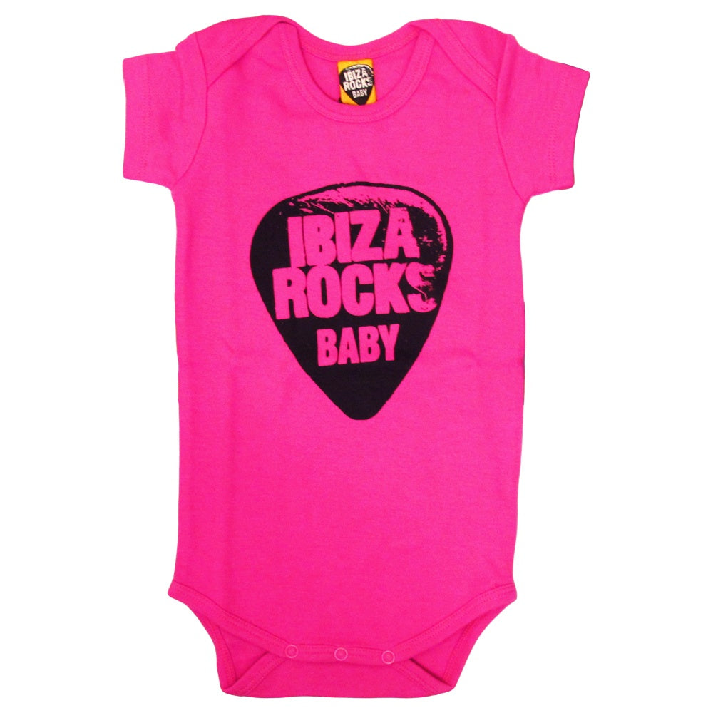 Ibiza Rocks Logo Baby Grow