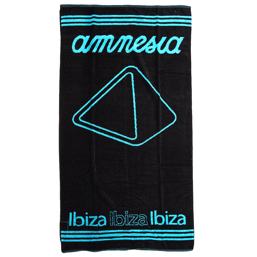 Amnesia Ibiza Pyramid Beach Towel