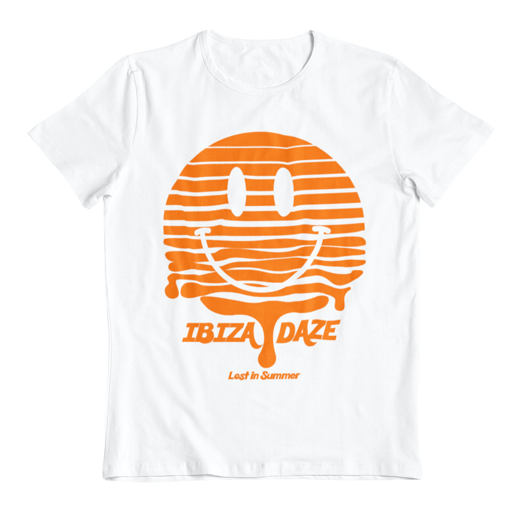 Ibiza Daze Smiley Melting Sunset Men's T-Shirt