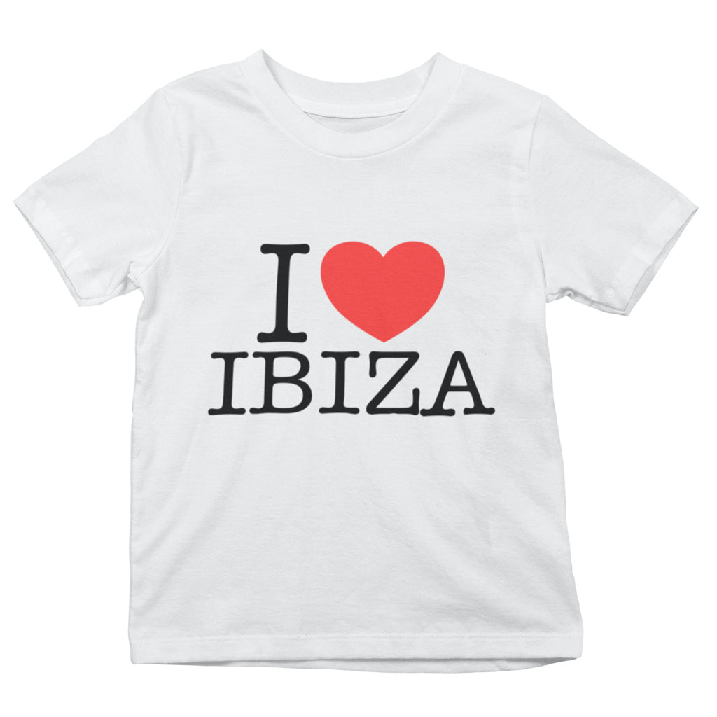 I Love Ibiza T-shirt Enfant