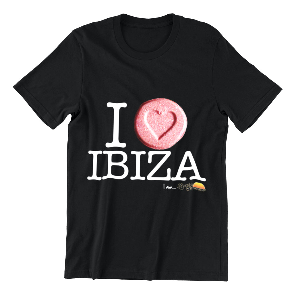 I Love Ibiza Men's T-shirt