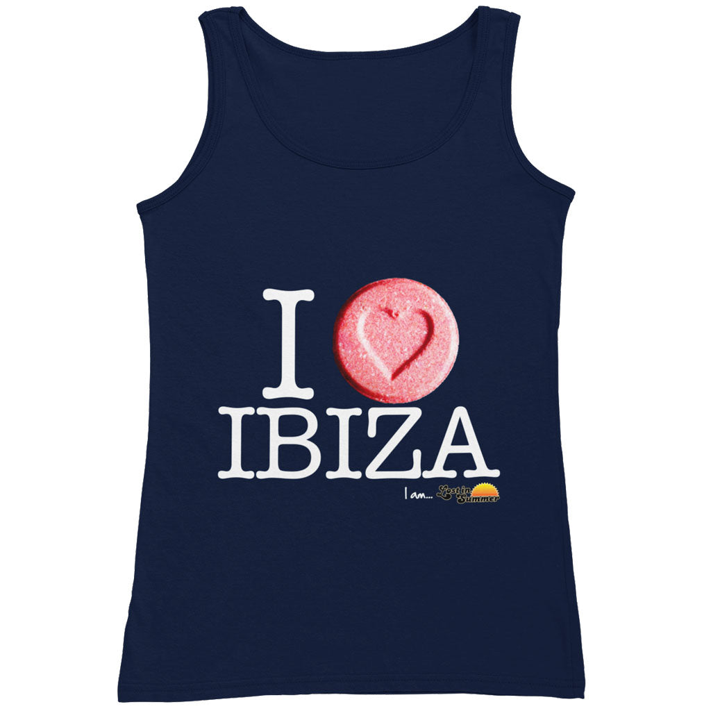 I Love Ibiza Men's Tank Top