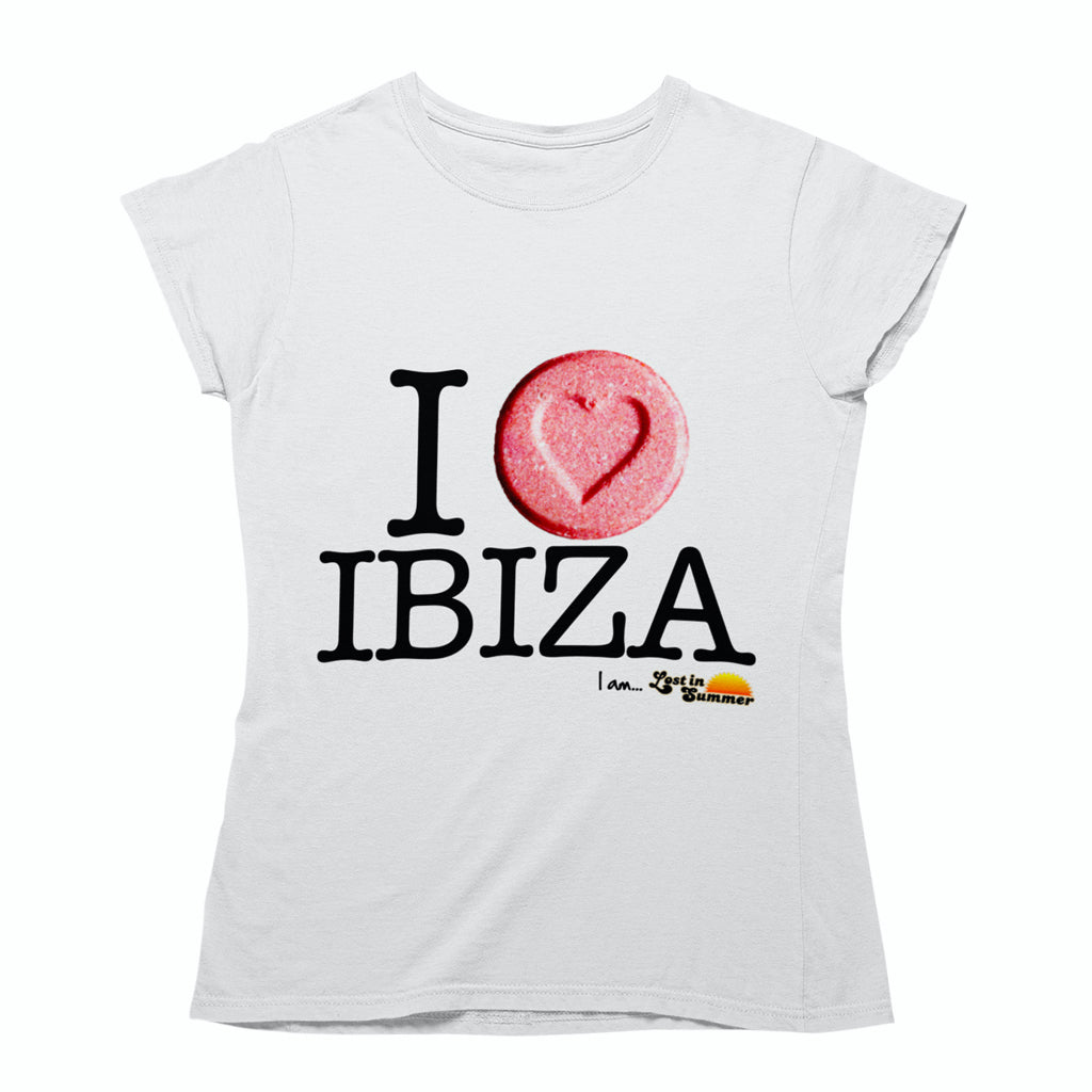 I Love Ibiza Women's Top