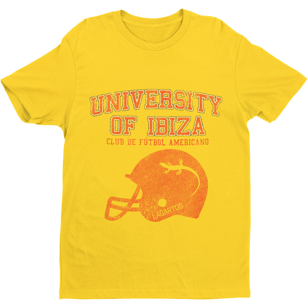 University of Ibiza Men's T-shirt American Football