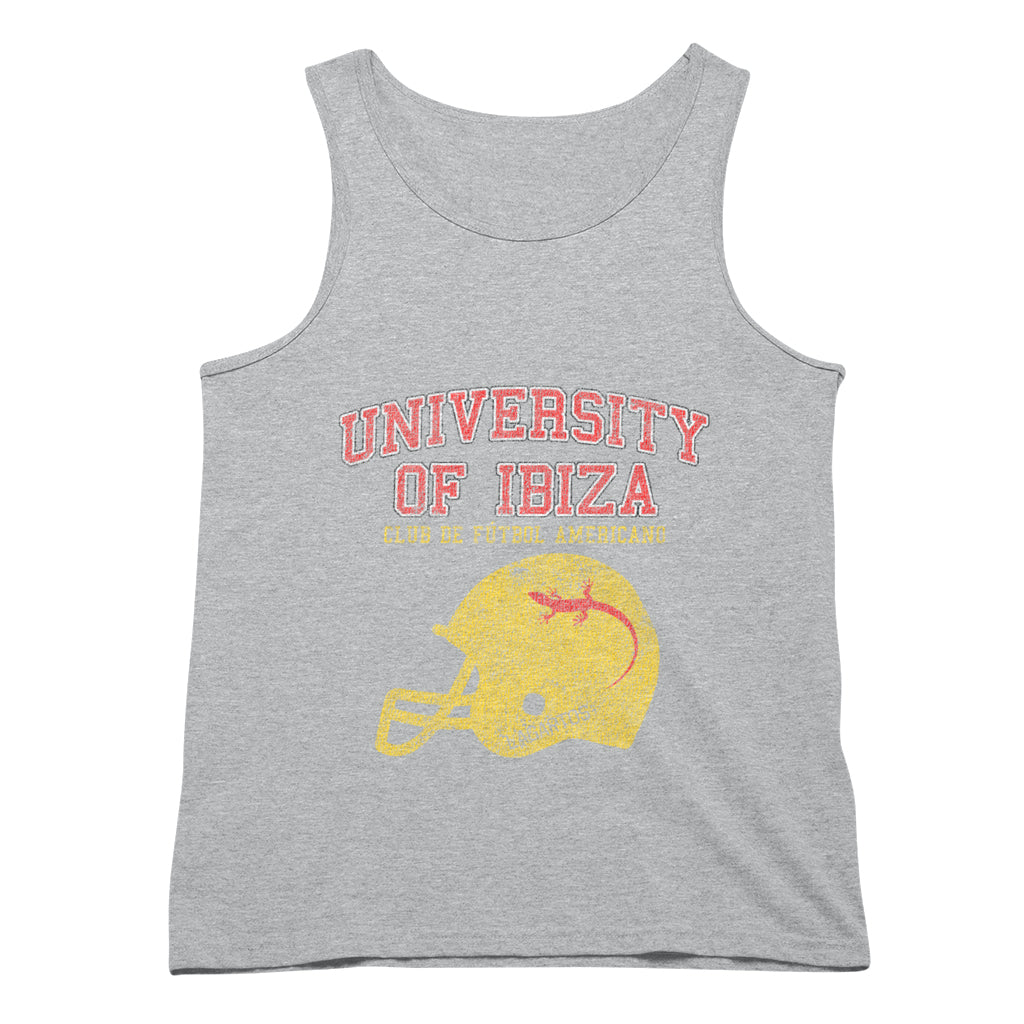 University of Ibiza Men's Tank American Football