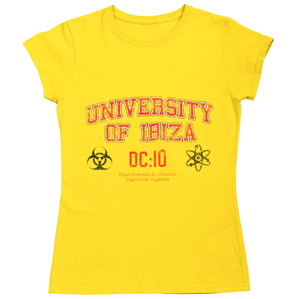 University of Ibiza Women's T-shirt Science Department