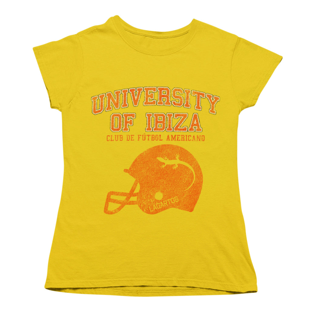 University of Ibiza Women's T-shirt American Football