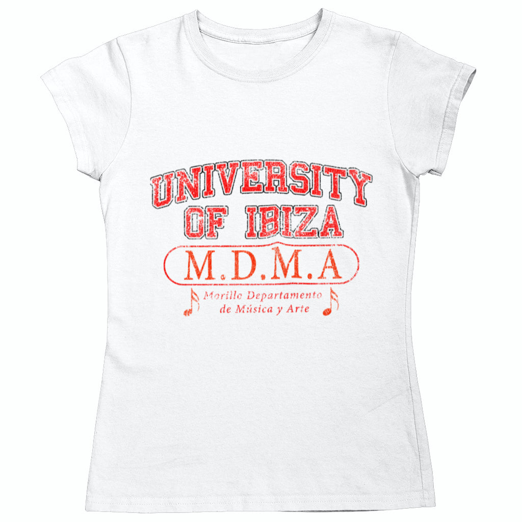 University of Ibiza Women's T-shirt Music Department