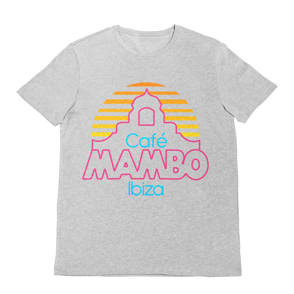 Cafe Mambo Ibiza Logo Men's Grey T-shirt