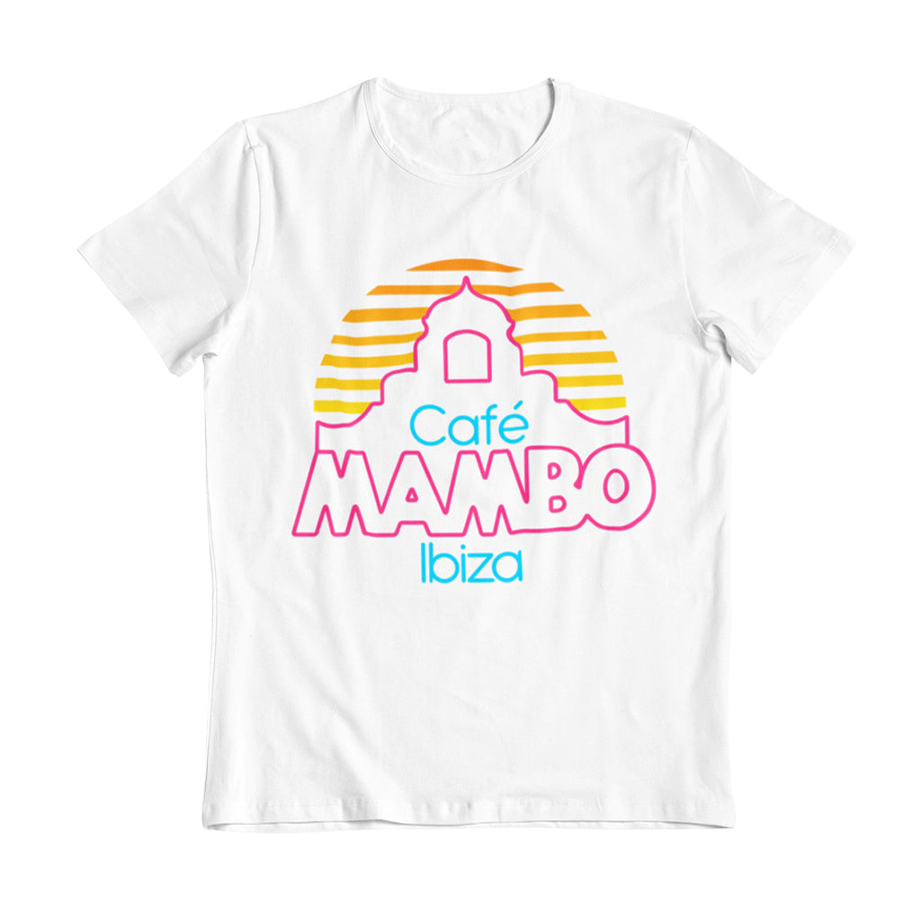 Cafe Mambo Ibiza Logo Men's White T-shirt