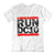 Run DC10 Men's White T-shirt