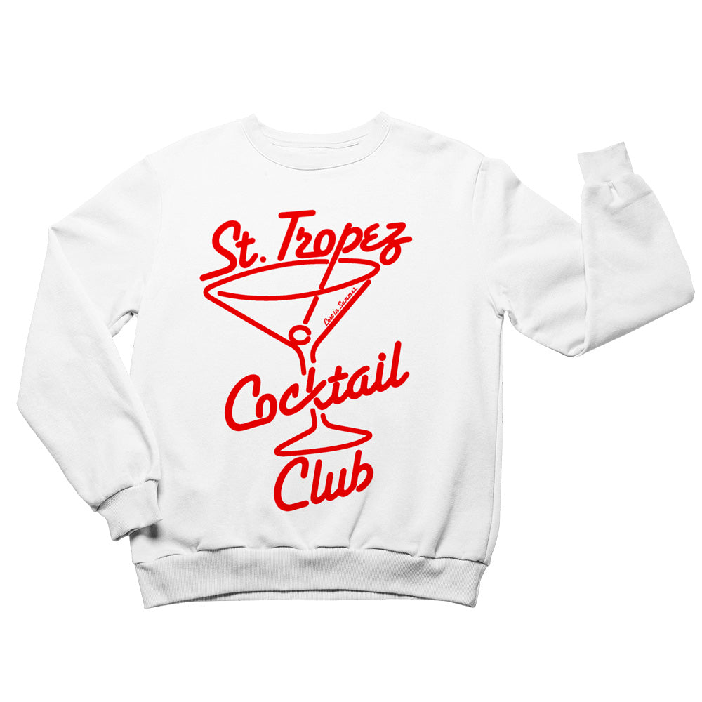 St. Tropez Cocktail Club Men's Sweatshirt