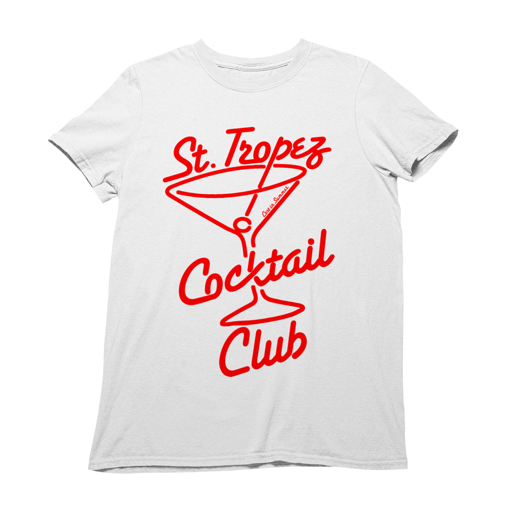 St. Tropez Cocktail Club Men's T-Shirt