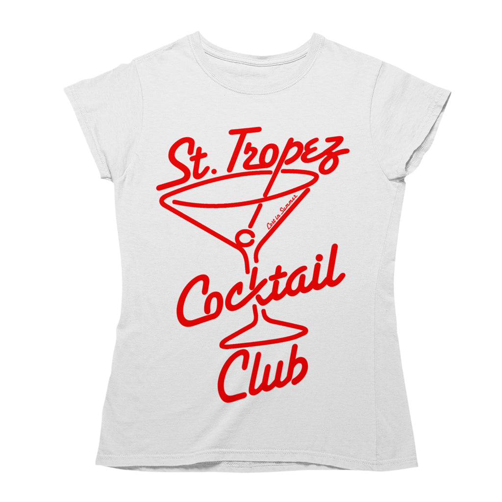 St. Tropez Cocktail Club Women's T-Shirt