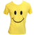 We Love Space T-shirt Smiley Face Yellow 2013