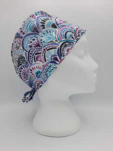 Mermaid Medallions Scrub Hat