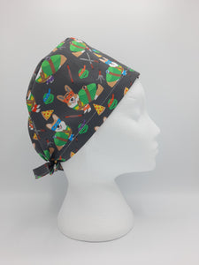 Teenage Mutant Ninja Corgi Hat