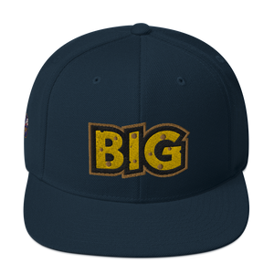 Wisconsin Big Cheese Snapback Hat