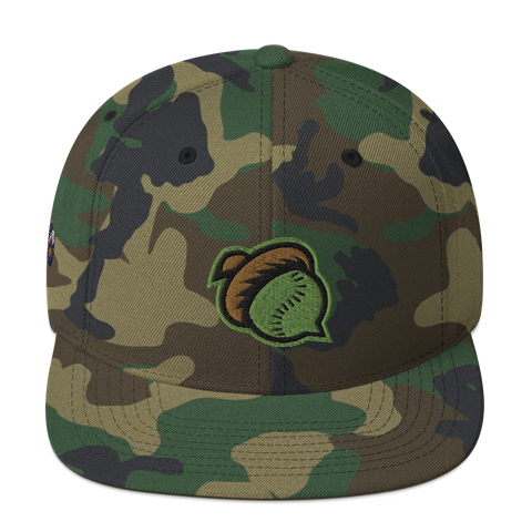 Mighty Oaks of Connecticut Snapback Hat