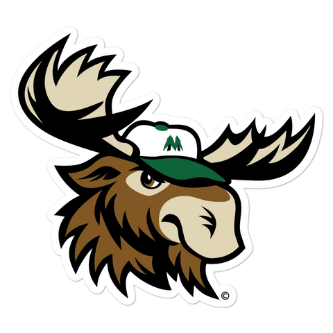 Minnesota Big Lumber Mascot bubble-free sticker