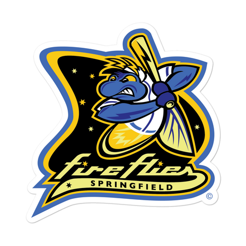 Springfield Fireflies bubble-free sticker