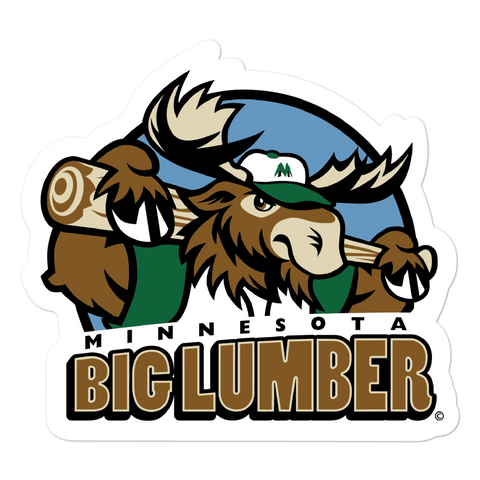 Minnesota Big Lumber bubble-free sticker