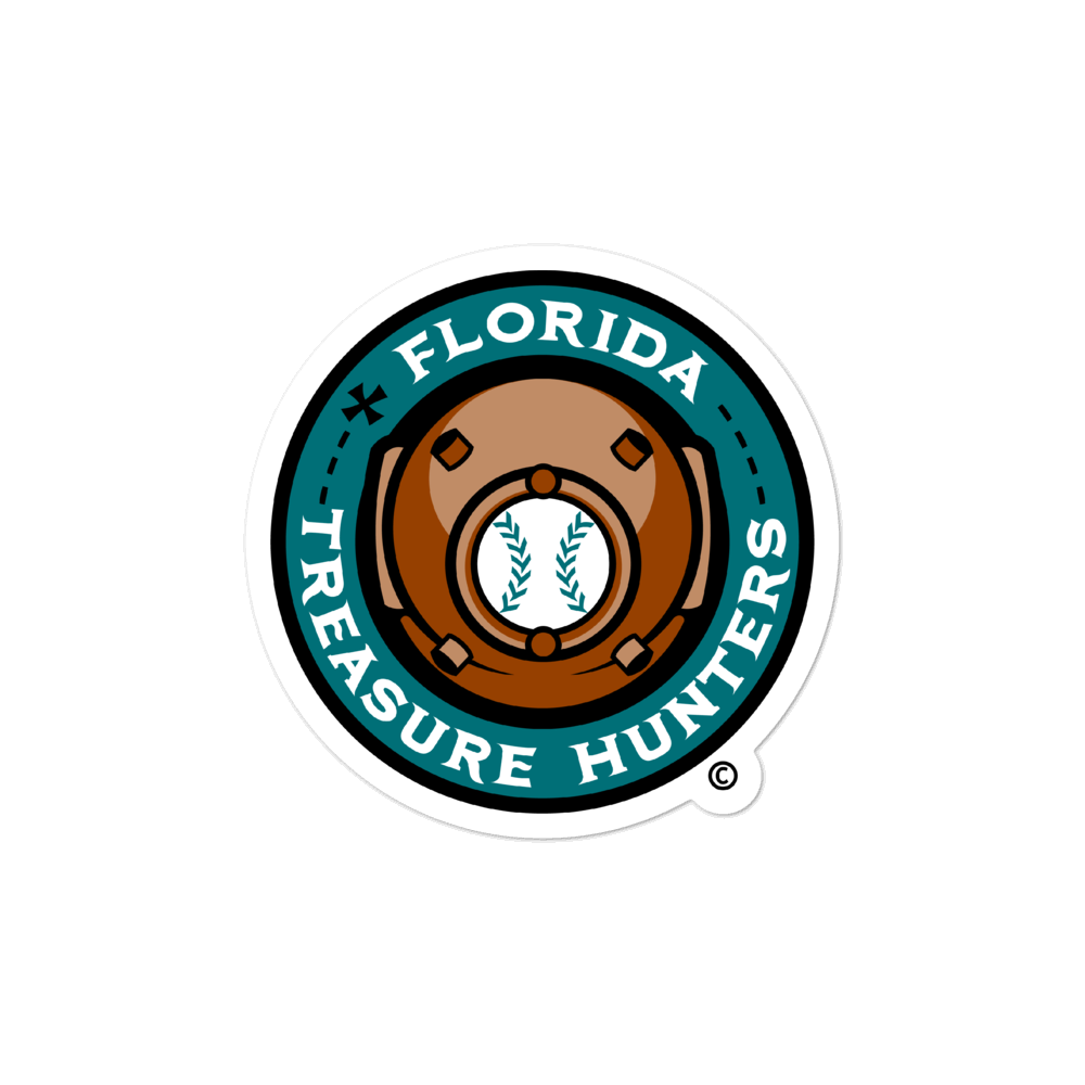 Florida Treasure Hunters bubble-free sticker