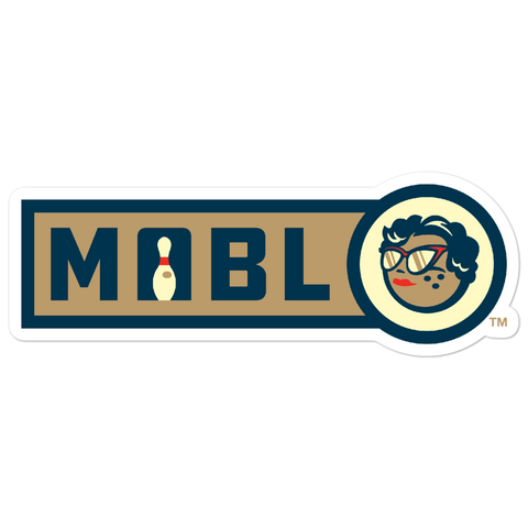 MABL Bowling Horizontal Logo bubble-free sticker