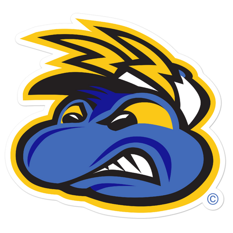Springfield Fireflies Mascot Face bubble-free sticker